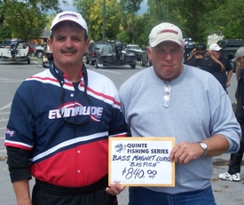 Quinte fishing series classic results 2006 for Montana fish wildlife and parks drawing results
